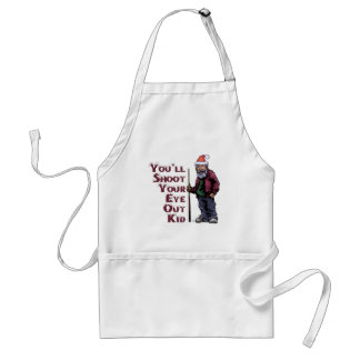 Shoot Your Eye Out Adult Apron