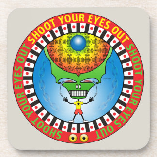 Shoot Your Eyes Out Drink Coaster