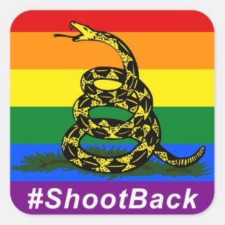 #ShootBack Sticker