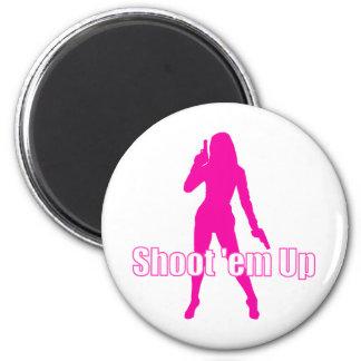 Shoot'em Up 2 Inch Round Magnet