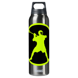 Shooter-green Insulated Water Bottle