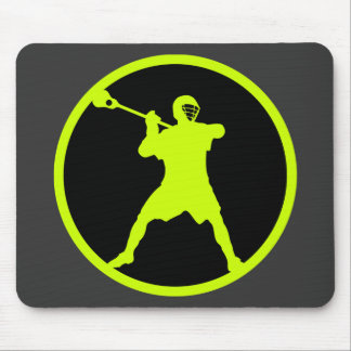 Shooter-green Mouse Pad
