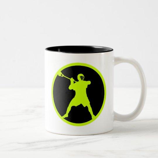 Shooter-green Two-Tone Coffee Mug