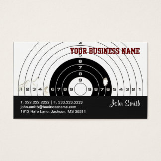 Shooter/Hunting business card