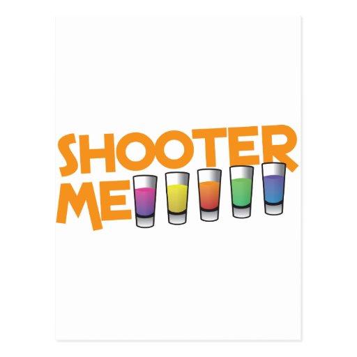 shooter me postcard