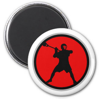 Shooter-red 2 Inch Round Magnet
