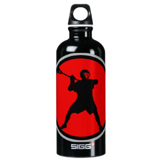 Shooter-red Aluminum Water Bottle