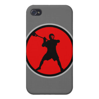 Shooter-red Cover For iPhone 4