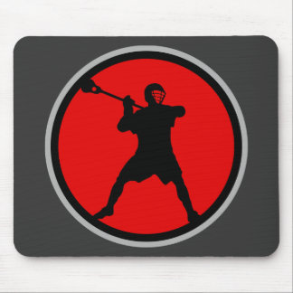 Shooter-red Mouse Pad
