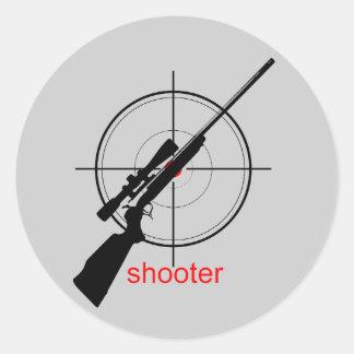 shooter - sticker