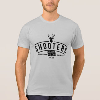 Shooters- Funny Photographer Design T-Shirt