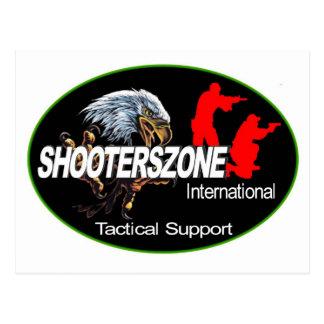 Shooterszone International Support Wear Postcard