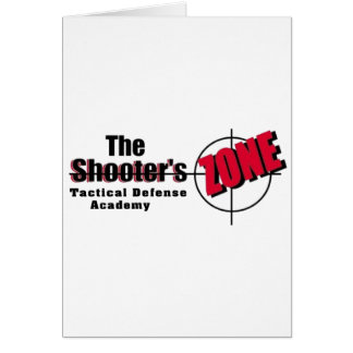 SHOOTERSZONE Tactical Custom Products Card