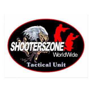 Shooterszone worldwide 2 postcard