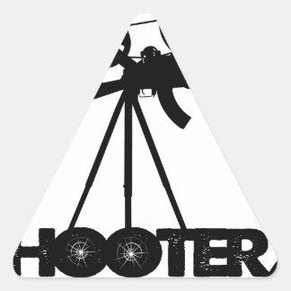 SHOOTERZ MEDIA GEAR TRIANGLE STICKER