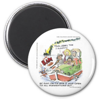 Shootin' At Some BP Crude Funny Gifts Tees Mugs Magnet