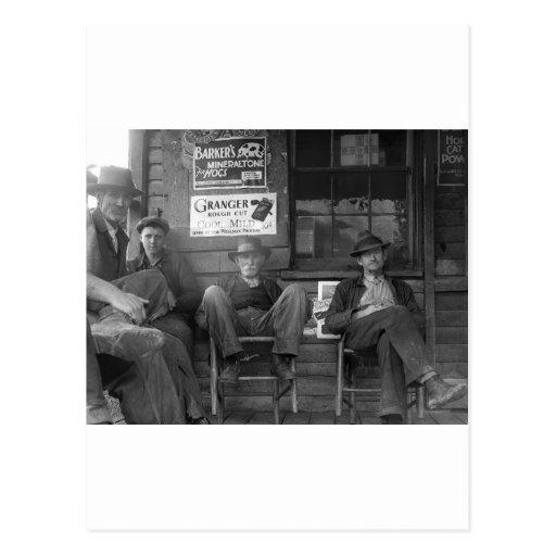 Shootin la brisa: 1935 postal