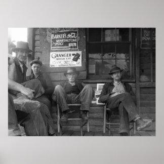 Shootin la brisa: 1935 póster