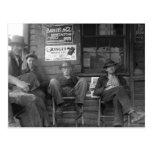Shootin la brisa: 1935 tarjeta postal