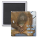 Shooting Blanks Elective Surgery 2 Inch Square Magnet