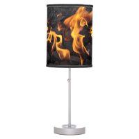 Shooting Flames Table Lamp