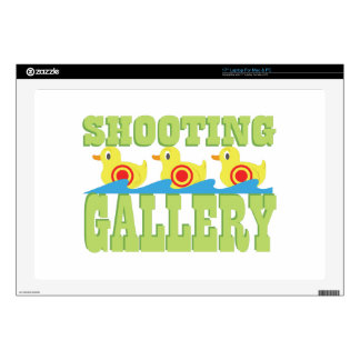 Shooting Gallery Decals For Laptops