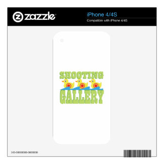 Shooting Gallery Decals For The iPhone 4