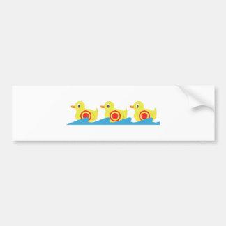 Shooting Gallery Ducks Bumper Sticker