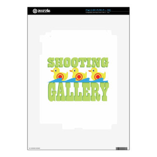 Shooting Gallery Skin For iPad 2