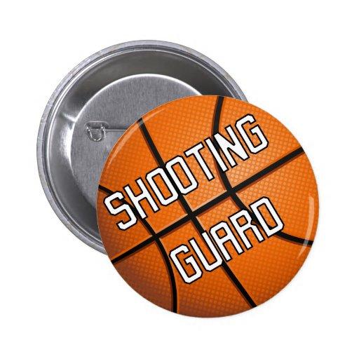 Shooting Guard Basketball Button