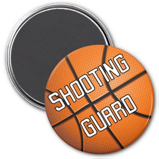 Shooting Guard Basketball Magnets
