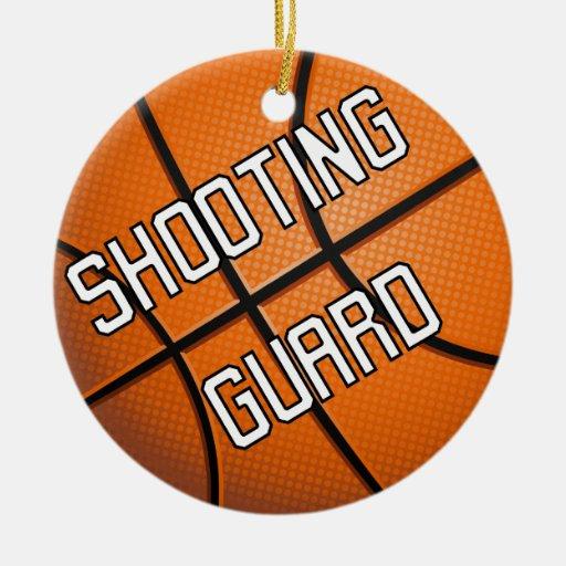 Shooting Guard Basketball Christmas Ornament