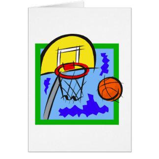 Shooting Hoops Card