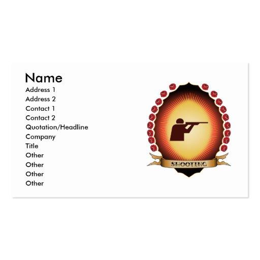 Shooting Mandorla Business Cards