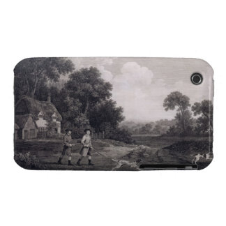 Shooting, plate 2, engraved by William Woollett (1 iPhone 3 Case-Mate Cases