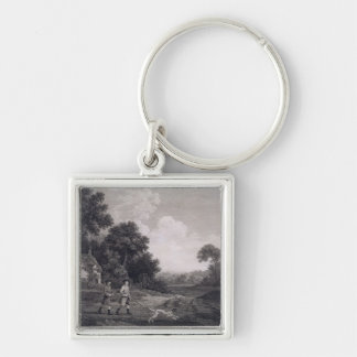 Shooting, plate 2, engraved by William Woollett (1 Keychain