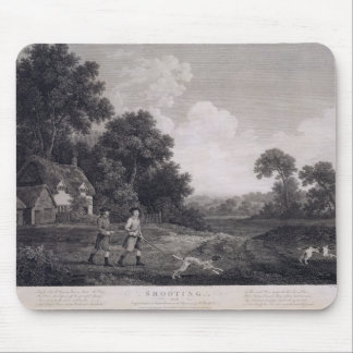 Shooting, plate 2, engraved by William Woollett (1 Mouse Pad