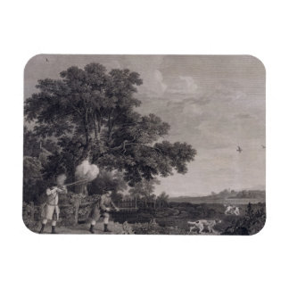 Shooting, plate 3, engraved by William Woollett (1 Rectangular Photo Magnet
