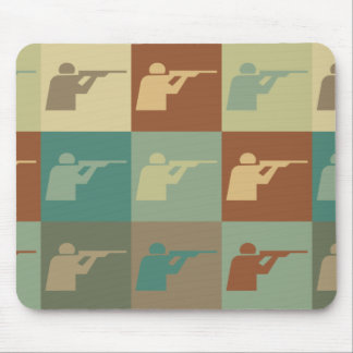Shooting Pop Art Mouse Pads