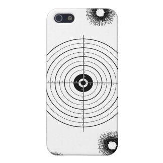 Shooting practice bullet holes bullets guns target case for iPhone SE/5/5s