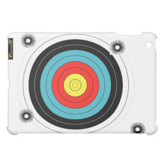Shooting practice bullet holes bullets guns target iPad mini cases