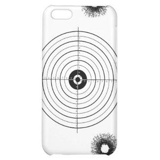 Shooting practice bullet holes bullets guns target iPhone 5C cover