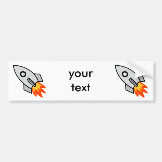 Shooting rocket Gifts Bumper Sticker