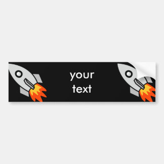 Shooting rocket Gifts Bumper Stickers