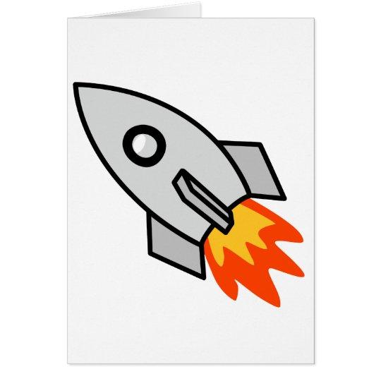 Shooting rocket Gifts Card
