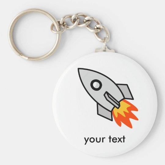 Shooting rocket Gifts Keychain