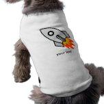 Shooting rocket Gifts Pet Tee Shirt