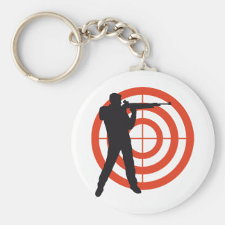 shooting sport keychain