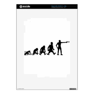 shooting Sports Decals For iPad 2