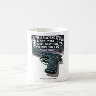 Shooting Spree Classic White Coffee Mug
